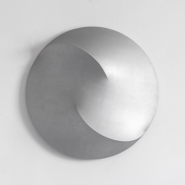 Viktoria Körösi, 'Untitled / Semicircles', 2018, Painting, Shaped canvas, oil on linen, wood, mdf, Art Advisory Budapest