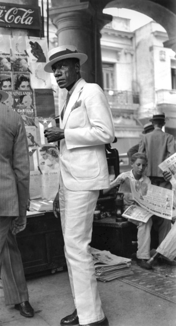 , 'Citizen in Downtown Havana,' 1933, Vancouver Art Gallery