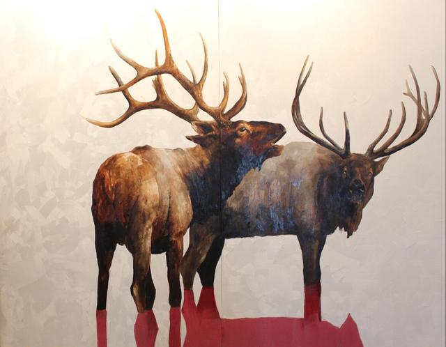 Kevin Sonmor, 'The Boys Are Back', 2019, Painting, Huile sur toile de lin / Oil on linen, Galerie de Bellefeuille