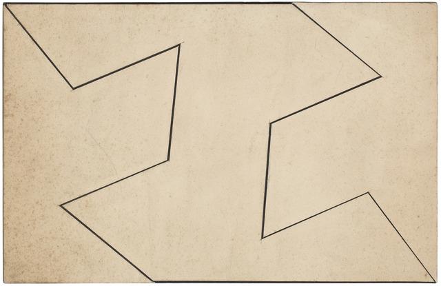 , 'Planos em superfície modulada - 197,' 1957, Dan Galeria