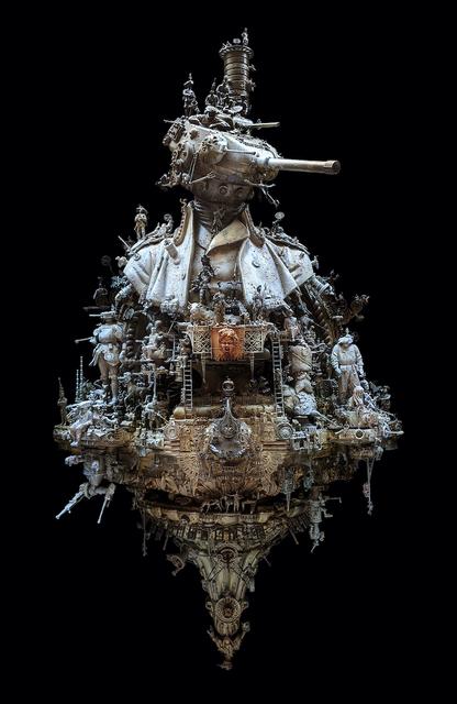 Kris Kuksi, 'General Heinrich von Howitzerhead', 2009, Sculpture, Mixed media assemblage, Joshua Liner Gallery