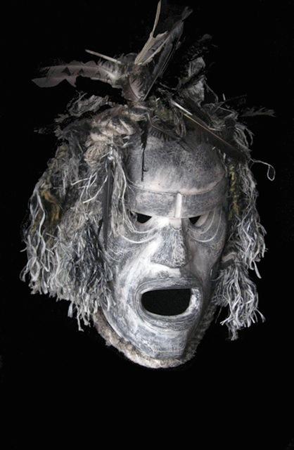 , 'Bookwus Ghost Mask,' 2013, Fazakas Gallery