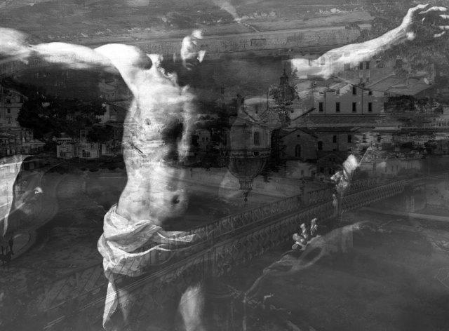 """, '""""Cristo Cosentino"""" Cosenza (da Crocefissione di Mattia Preti),' 2017, Galleria Anna Marra"""