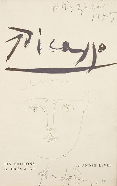 Pablo Picasso, '[Tête de femme]', 1945, Phillips