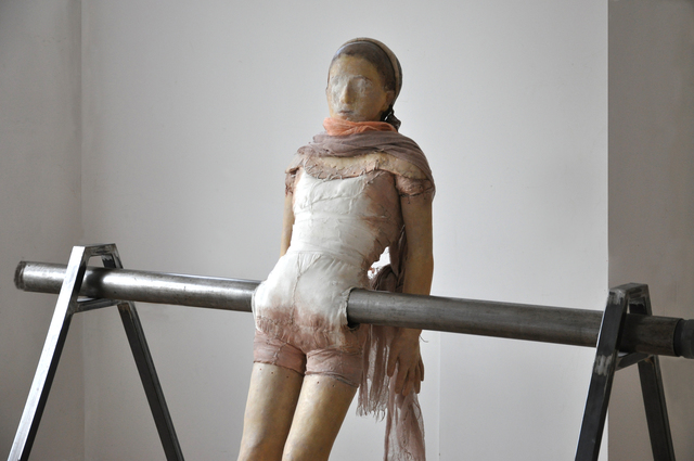 , 'Balancing Figure,' 2009-2012, Eric Dupont