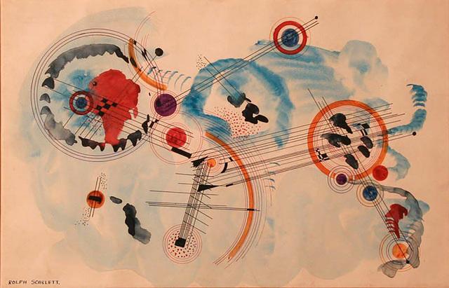 , 'Andante in Blue (Solomon R. Guggenheim Foundation),' 1935, Alpha 137 Gallery