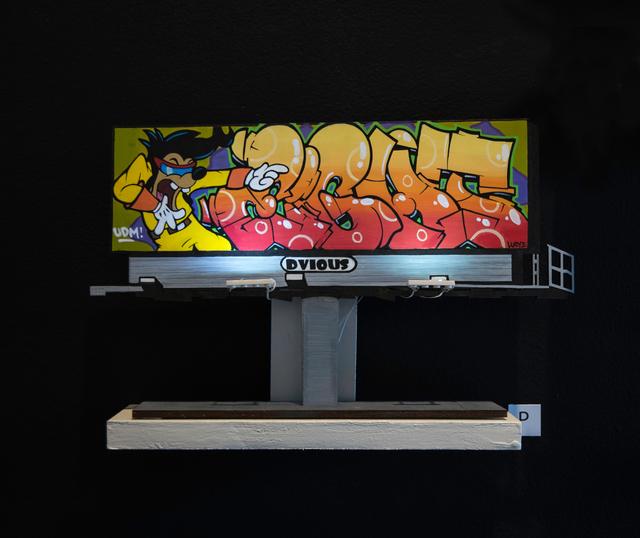 , 'Billboard P,' 2018, EWKUKS