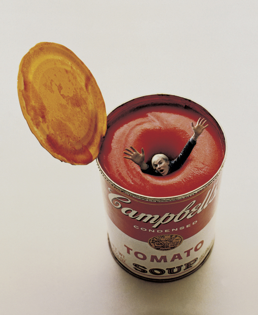 , 'Andy Warhol in a Soup Can,' 1969, TASCHEN