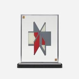 A Design for a Mirrored Slipcase for Les Dernieres Merveilles de la Science
