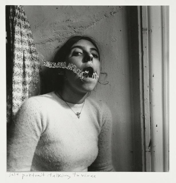 , 'Self-portrait talking to Vince, Providence, Rhode Island,' 1977, Foam Fotografiemuseum Amsterdam