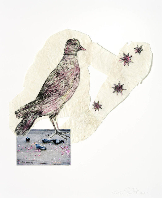 , 'Bird with stars,' 2011, Galerie Lelong & Co.