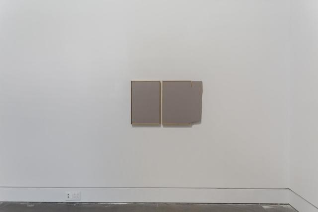 , 'Cleft Diptych ,' 2018, Queens Museum