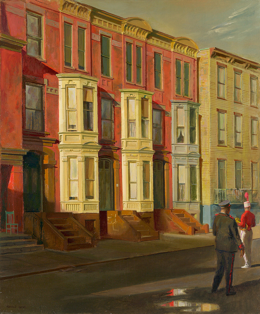 , 'Music on Fulton Street,' 1954, Questroyal Fine Art