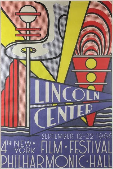 Roy Lichtenstein, 'Lincoln Center', 1966, Bertolami Fine Arts