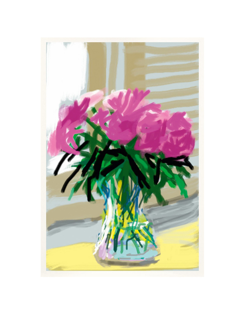 David Hockney, 'iPhone drawing 'No. 535', 28th June 2009', 2019, Print, 8 color ink–jet print on cotton fibre archival paper, Kenneth A. Friedman & Co.