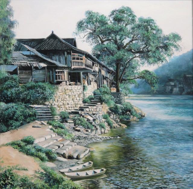 , 'View in west Hunan,' 2008, A-Art Shengzan Gallery