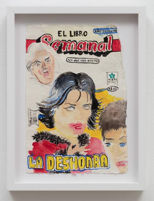 , 'El Libro Semanal: La Deshonra,' 2019, Klowden Mann
