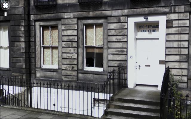 , '53 E Claremont St, Edinburgh, Scotland, UK-fotografia, 2010,' 2010, Feuer/Mesler
