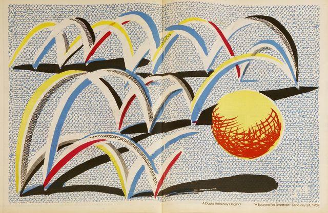David Hockney, 'A BOUNCE FOR BRADFORD', 1987, Sworders