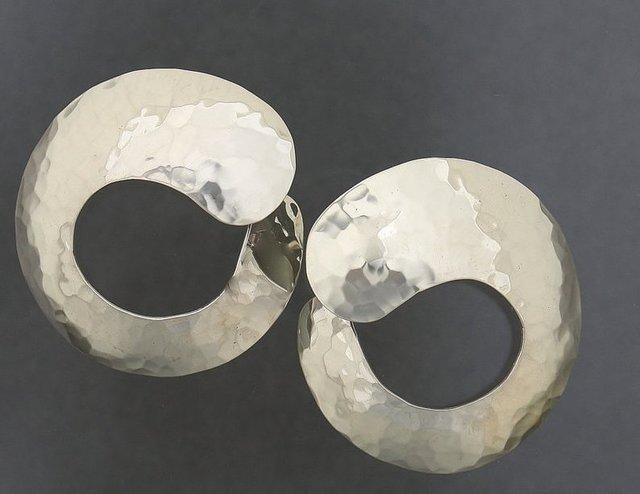 Kathy Marie Anderson, 'Sterling Silver Hoop Earrings', 2000-2019, Gallery 1505