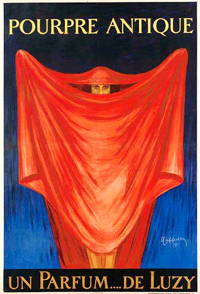 , 'POURPRE ANTIQUE - UN PARFUM.... DE LUZY,' 1921, Omnibus Gallery