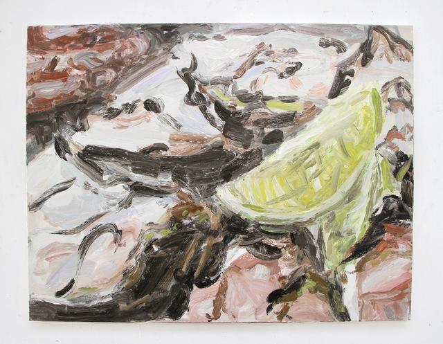 , 'Oysters and lemon #4,' 2019, Dürst Britt & Mayhew