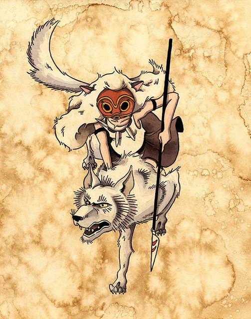 , 'Princess Mononoke ,' 2017, Spoke Art