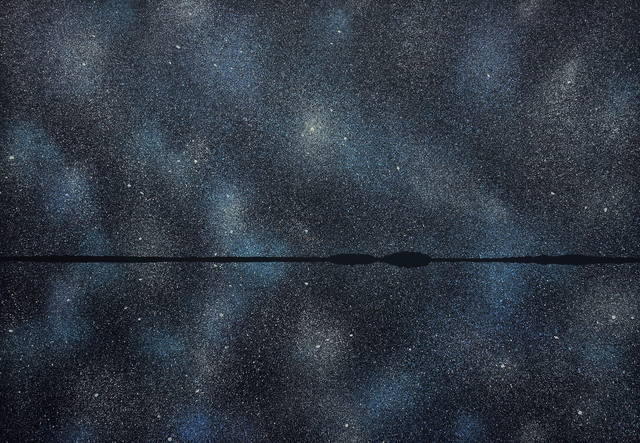 , 'Stars 21 August 23:36,' 2018, Galerie Sandhofer