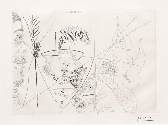 Pablo Picasso, 'Ecuyere de Cirque..., from the 347', 1968, Leslie Sacks Gallery