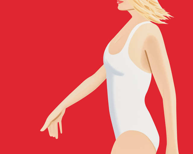 Alex Katz, 'Coca-Cola Girl 1 ', 2018, Alzueta Gallery