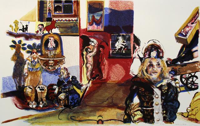 Natalie Frank, 'Satan's Ball', 2008, Print, Lithograph, ClampArt