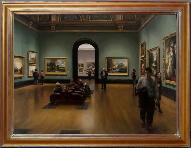 , 'National Gallery, London,' 2017, ARCADIA CONTEMPORARY