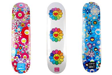 3 Skateboard Decks