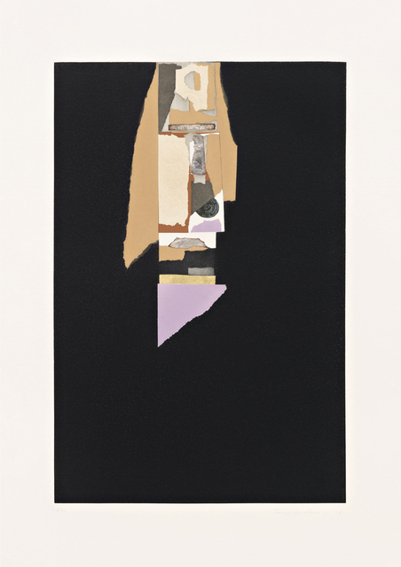 , 'Aquatint V,' 1973, Nohra Haime Gallery