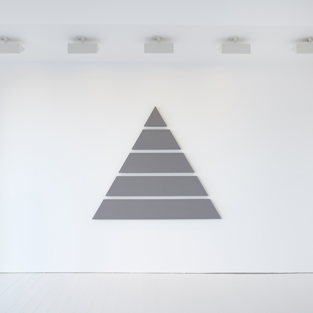 , 'Untitled (Divided Triangle),' 2016, Patrick De Brock Gallery