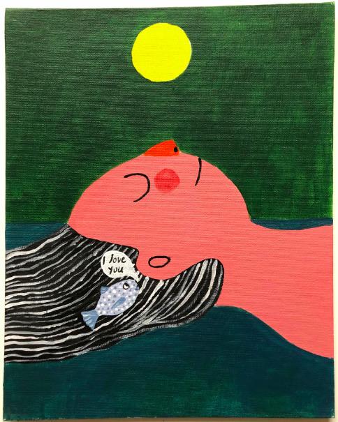, 'I love you,' 2018, Deli Gallery