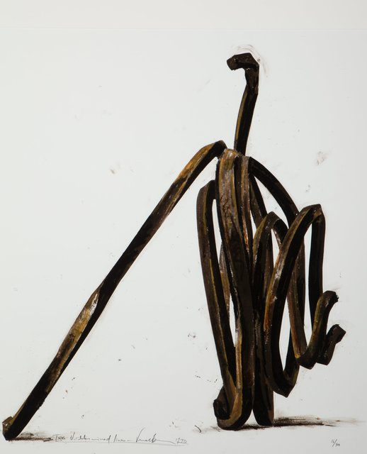 Bernar Venet, 'Two Undetermined Lines', 1990, Heritage Auctions