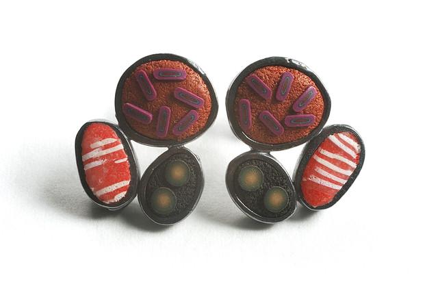 , 'Pebble Earrings #256,' , form & concept