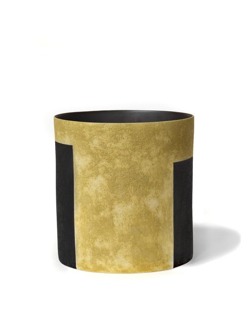 , 'Ochre Tall Bucket Vessel,' , Hostler Burrows