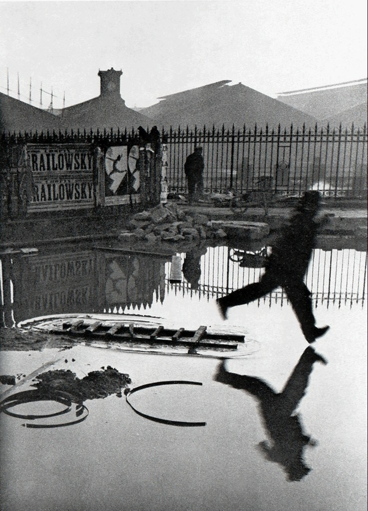 Behind the Gare St. Lazare, 1932 by Henri Cartier-Bresson