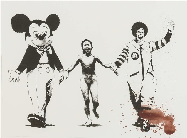 Banksy, 'Napalm (Can't Beat The Feeling)', 2006, Print, Digital Pigment Print, The Drang Gallery