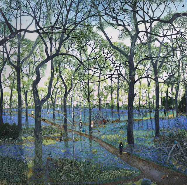 Emma Haworth, 'Bluebell Wood', 2016, Rebecca Hossack Art Gallery