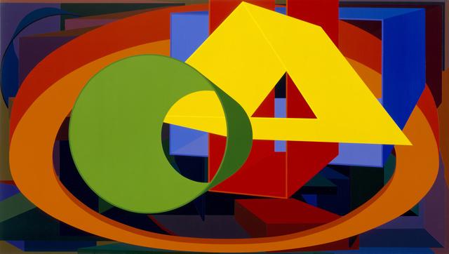 Al Held, 'Auriga II', 1989, White Cube
