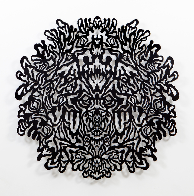 , 'Reflective Monochrome (Black),' 2014, Erin Cluley Gallery