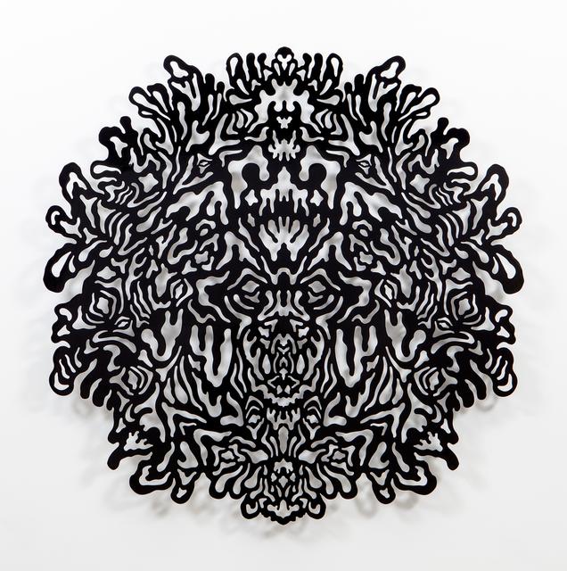 , 'Reflective Monochrome (Black),' 2014, Erin Cluley Gallery