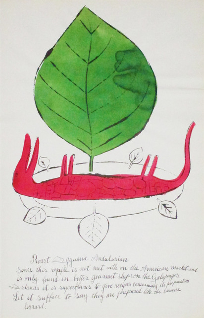 Andy Warhol, 'Wild Raspberries (136A)', 1959, Hamilton-Selway Fine Art