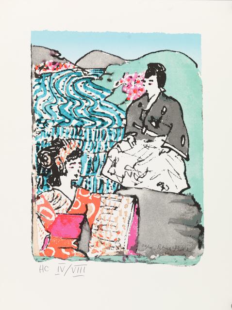Patrick Procktor, 'Kabuki – Scene from Yoshinogawa', 1991, Robert Eagle Fine Art
