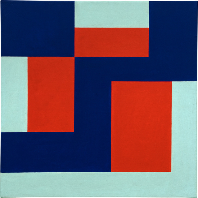 , 'RED, BLUE & GREEN,' 1969, Hales Gallery