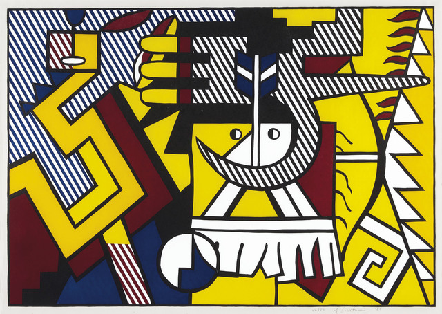 Roy Lichtenstein, 'American Indian Theme VI, from American Indian Theme', 1980, Christie's