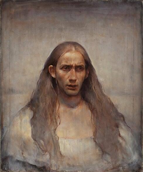 Sebastian Salvo, 'White Self-Portrait', 2018, IX Gallery